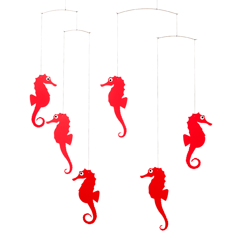 Sea Horse, red