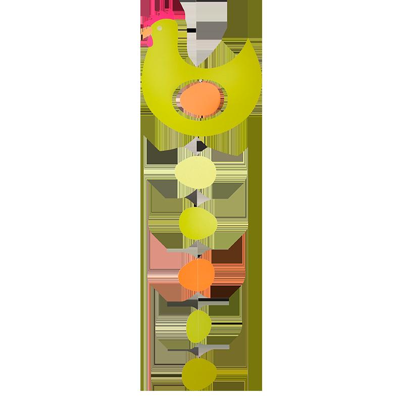 Prize Hen, yellow