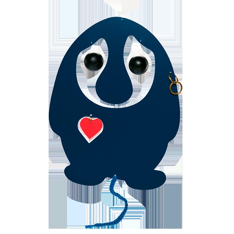 Puffing Troll, blue