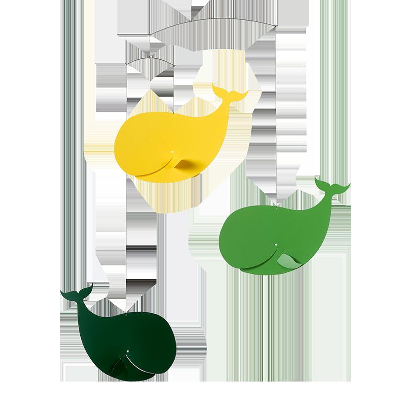 Hvalmøde, grøn/gul