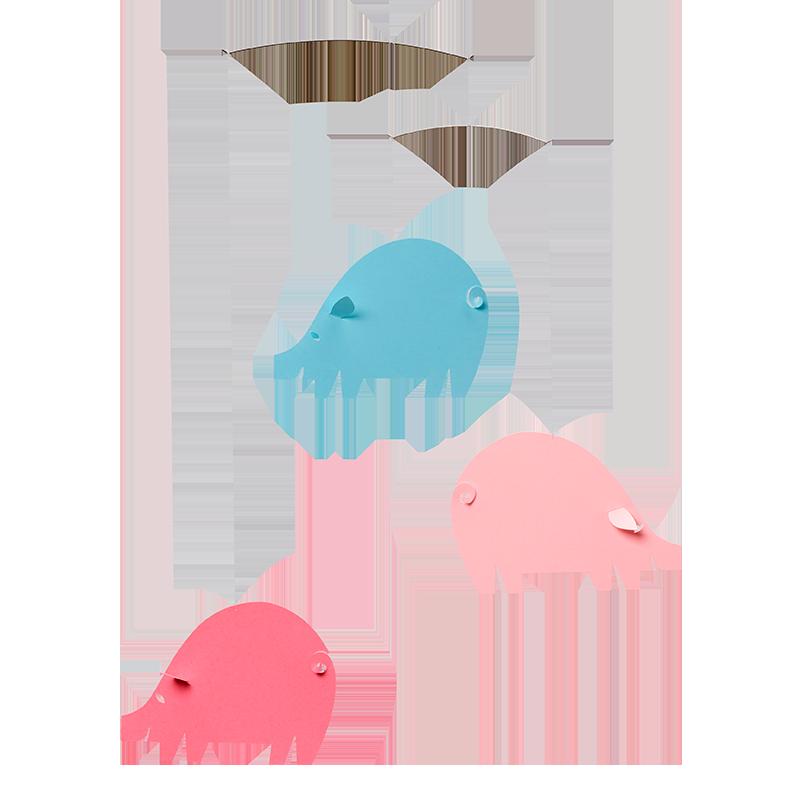 Piggy, pastel