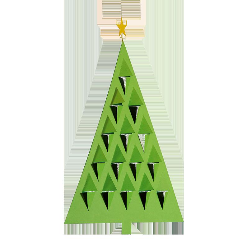 Prismetræ, grøn