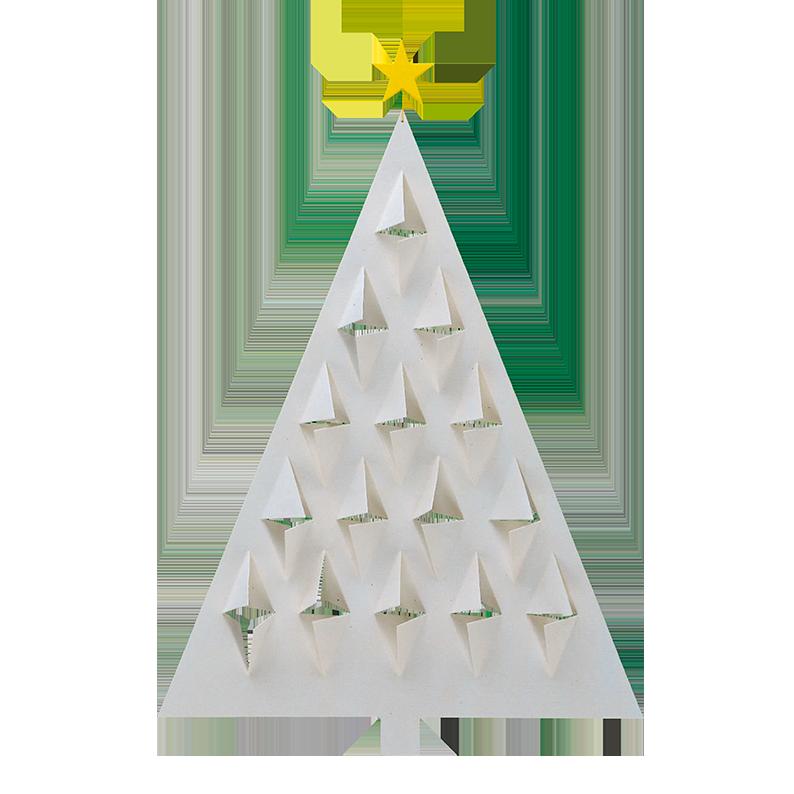 Prismas Tree, white