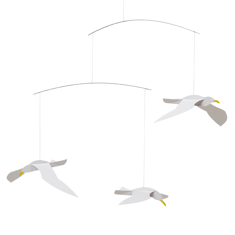 Svævende Måger