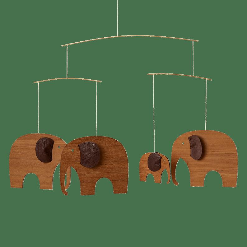 Elefantkomsammen, teak